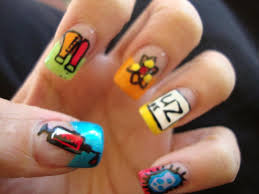 toothpick nail art 5 nail art designs ideas using only a perfect