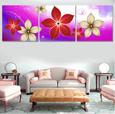 Paintings For Living Room Online Get Cheap Red Flower Artwork Aliexpress Com Alibaba Group