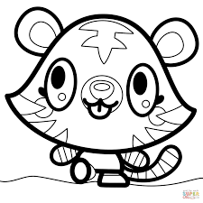 moshi monsters katsuma coloring page free printable coloring pages