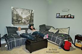 Small Bedroom With Two Beds Ideas 3 In 1 Flex Room Guest Suite Play Room Room For Two Remodelaholic
