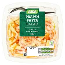 asda creamy prawn pasta salad asda groceries