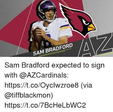Sam Bradford Memes - sam bradford sam bradford expected to sign with httpstcooyciwzroe8