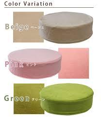 noone rakuten global market 11 cm thick foam round cushion