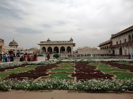 panoramio photo of agra red fort inside garden