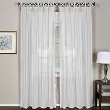 White Tie Curtains Best Of White Tie Top Curtains Decor With Elrene Home Fashions