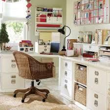 Work Desk Organization Ideas Minimalist Modern Room Decoration With White Wooden Wall Color