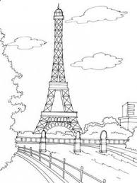 draw the eiffel tower step by step art u0026painting and drawing