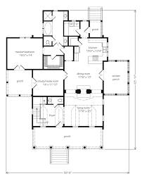 floor plans southern living eastover cottage watermark coastal homes llc southern living