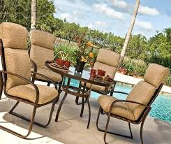 Patio Furniture Seat Cushions Cushions For Patio Furniture High Back Patio Chair Cushion Patio