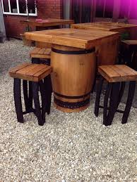 Whiskey Barrel Pub Table Secondhand Vintage And Reclaimed Pub Tables Square Top Oak