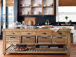 unique kitchen decor ideas kitchen unique low portable kitchen island with recalimed wood