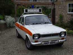 ford escort mexico police cars pinterest