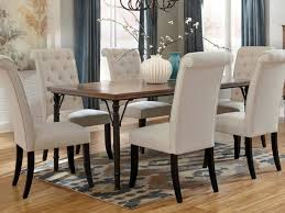 White Leather Dining Room Chair by Dining Room Tufted Dining Room Sets 00025 Tufted Dining Room