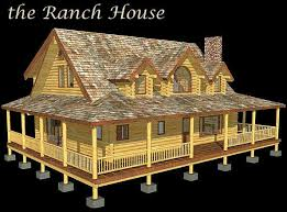 Country Style Home Plans With Wrap Around Porches Love Me Some Wrap Around Porch Plenty Of Room For Guests To Just