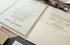 wedding invitations glitter chagne blush gold glitter invitation package