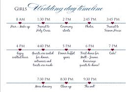 wedding ceremony timeline wedding day timeline weddingbee