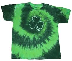 9 best st patricks day tyedye images on pinterest tie dyed dye