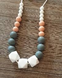 silicone bead necklace images Silicone teething necklaces sugarplum collection jpg