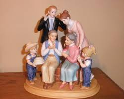 home interior denim days figurines denim days home interior family figurine new in box interiors
