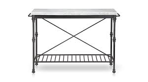wrought iron kitchen island kitchen island crate and barrel