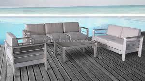 canape jardin aluminium emejing salon de jardin exterieur aluminium ideas amazing house