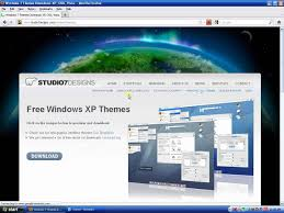 how to install themes on windows xp sp2 youtube
