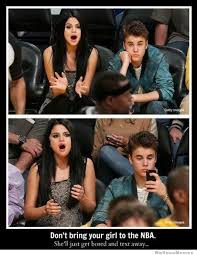 Selena Meme - hispanic meme dont bring your girl to the nba justin bieber nba meme