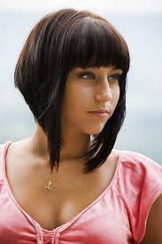 graduated bob hairstyles with fringe inverted bob haircuts 2013 2014 short hairstyles 2016 2017
