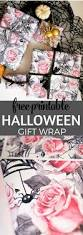 printable halloween book adorable halloween birthday gift wrap free printable tinselbox