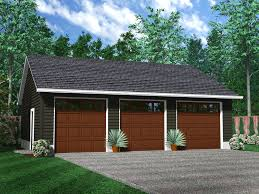 2 Car Garages by Custom Two Car Garage With Attached Workshop Garage Design
