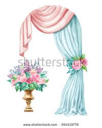 Arch Window Curtain Curtain Arch Stock Images Royalty Free Images U0026 Vectors