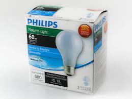 light bulbs most like natural light philips 43w 120v a19 natural light halogen bulb 2 pack 43a19 ev