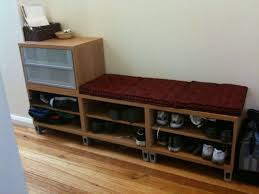 ikea hack shoe cabinet 49 hallway shoe storage bench storage bench and shelf from the