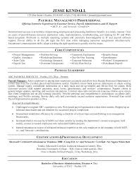 benefits officer resume s lewesmr payroll manager exles cover