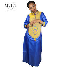 Design Dresses Aliexpress Com Buy Free Shipping New African Bazin Embroidery