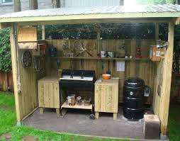 great idea for a bbq shack bbq pinterest backyard yards