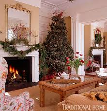 traditional home christmas decorating 25 years of beautiful holiday rooms traditional home