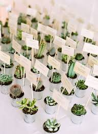 wedding table favors 2017 wedding trends 30 botanical ideas to decorate your big day