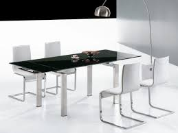 Best  Black Glass Dining Table Ideas On Pinterest Glass Top - White and black dining table