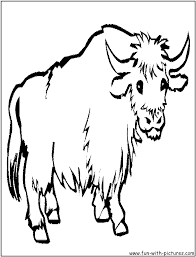 yak png black and white transparent png images pluspng