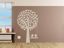 Kinderzimmer Schaukel Idee Kinderzimmer Gestaltung Groer Baum Wandgestaltung Tierwelt