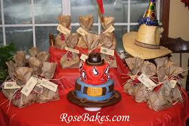 Western Theme Party Decorations Birthday Cake Category For Marvellous Western Birthday Party Cake