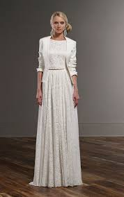 wedding dress jacket flowy boho wedding dress separates martina liana wedding dresses