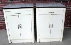 Vintage Metal Kitchen Cabinets Enamel Kitchen Cabinets Home Design Interior And Exterior Spirit