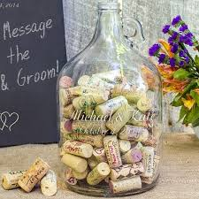 wedding wishes jar wedding wishes personalized glass gallon growler