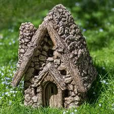fairy garden statues campania international gnome sweet home garden statue hayneedle