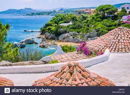Mediterranean Houses by Roofs Of Mediterranean Houses Near Porto Rafael Palau Region