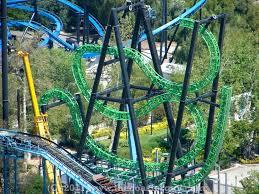 Six Flags Magic Mountain Green Lantern First Flight Construction Photo Update At Six Flags