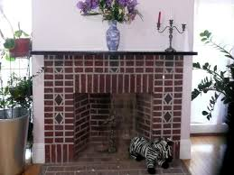 painted brick fireplace design ideas tips in painting brick