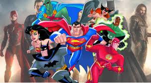 justice league fan compares new dc intro to justice league cartoon intro u0026 it u0027s